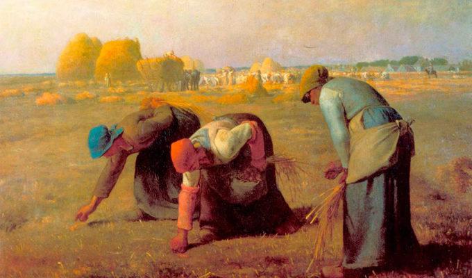Arenleesters Des-glaneuses Millet