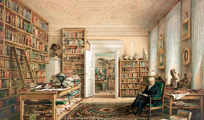 Bibliotheek Van Alexander Von Humboldt