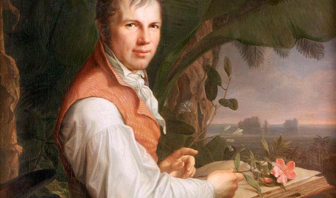 Portret Van Alexander Von Humboldt