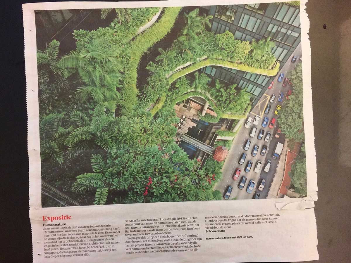 'Esme Swimming' Hotel Parkroyal, Singapore Foto: Lucas Foglia